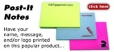 custom post it notes