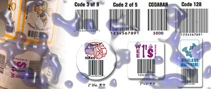 barcode labels weatherproof