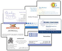 Raised print business cards thermography printing create your raised business cards reheart Images