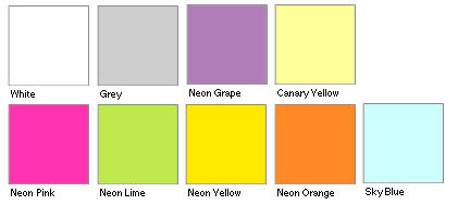 post it note colors